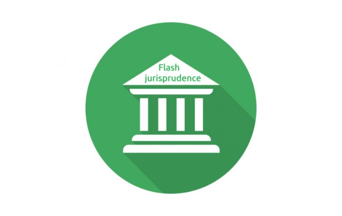 Flash jurisprudence